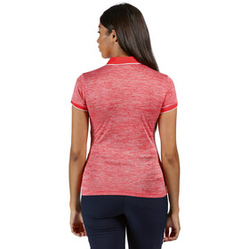 Regatta Remex II Camiseta Manga Corta Mujer, rojo